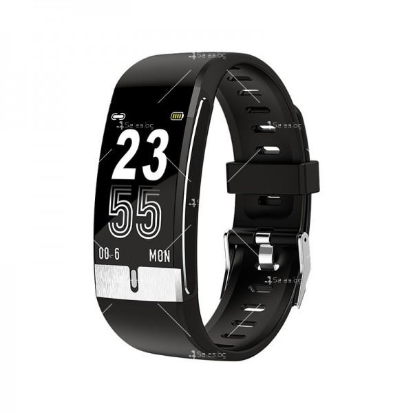 Интелигентен дигитален спортен часовник Е66, брояч на стъпки и др. SMW52 2