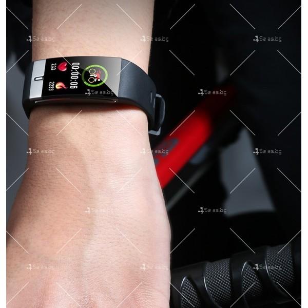 Интелигентен дигитален спортен часовник Е66, брояч на стъпки и др. SMW52 9