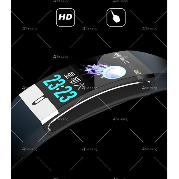 Интелигентен дигитален спортен часовник Е66, брояч на стъпки и др. SMW52 12