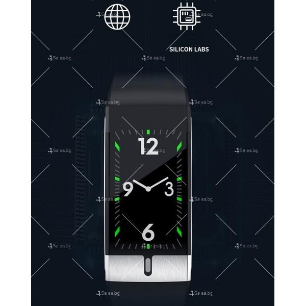 Интелигентен дигитален спортен часовник Е66, брояч на стъпки и др. SMW52 13