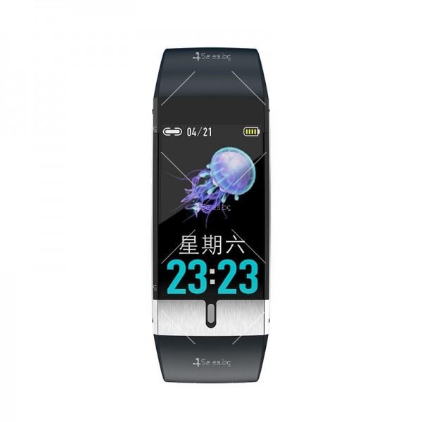Интелигентен дигитален спортен часовник Е66, брояч на стъпки и др. SMW52 15