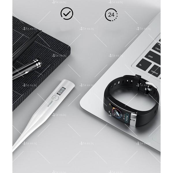 Интелигентен дигитален спортен часовник Е66, брояч на стъпки и др. SMW52 17