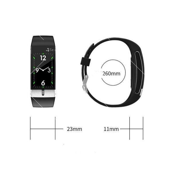 Интелигентен дигитален спортен часовник Е66, брояч на стъпки и др. SMW52 19