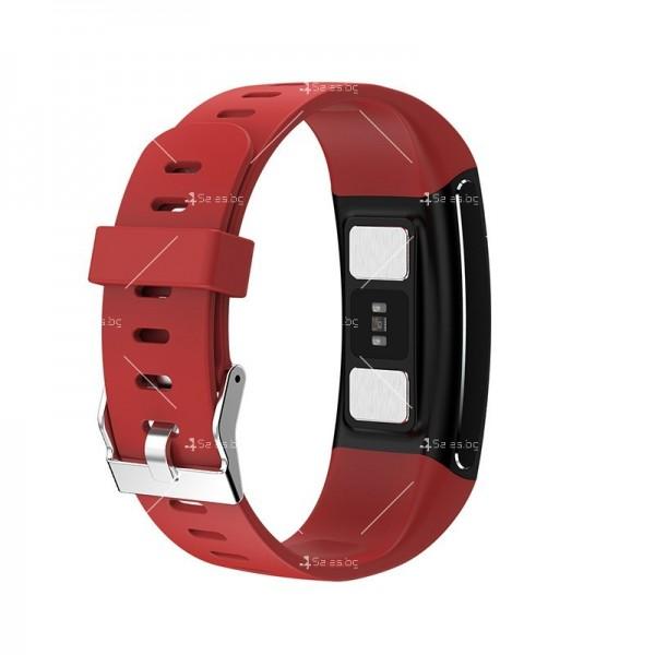 Интелигентен дигитален спортен часовник Е66, брояч на стъпки и др. SMW52 20