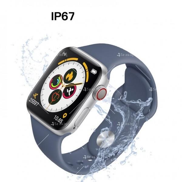 Мултифункционален интелигентен часовник T500 със сензор за движение SMW51 4