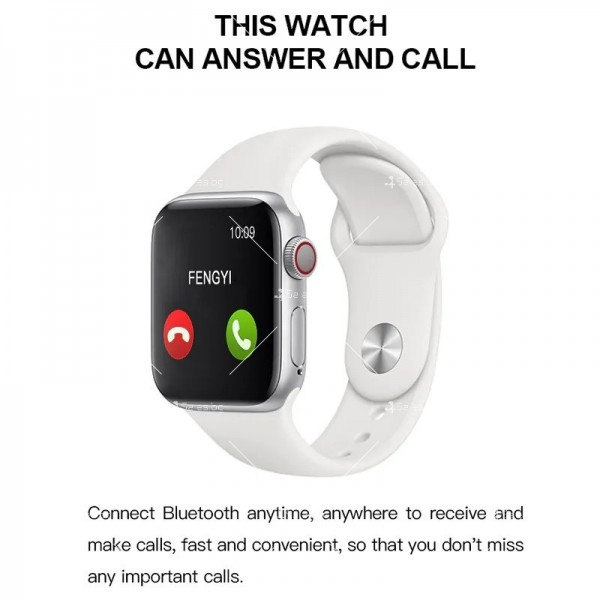 Мултифункционален интелигентен часовник T500 със сензор за движение SMW51