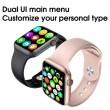 Унисекс смарт часовник Spot W26 с touch screen и синхронизиране с Bluetooth SMW53 6