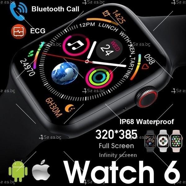 Унисекс смарт часовник Spot W26 с touch screen и синхронизиране с Bluetooth SMW53 21