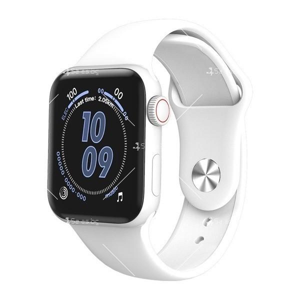 Смарт часовник W98 с HD touch screen и измерване на температурата SMW54 2