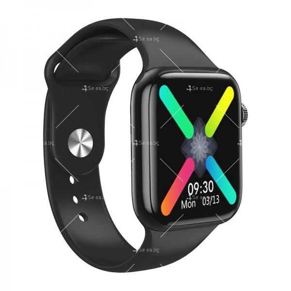 Смарт часовник W98 с HD touch screen и измерване на температурата SMW54 6