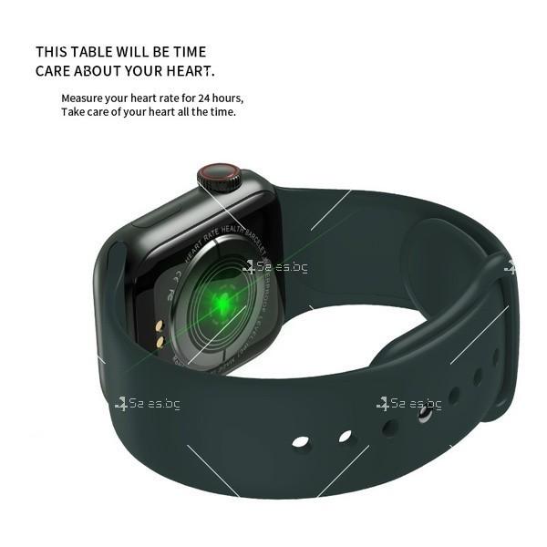 Смарт часовник W98 с HD touch screen и измерване на температурата SMW54 5