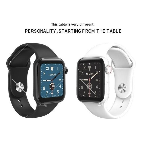 Смарт часовник W98 с HD touch screen и измерване на температурата SMW54 7