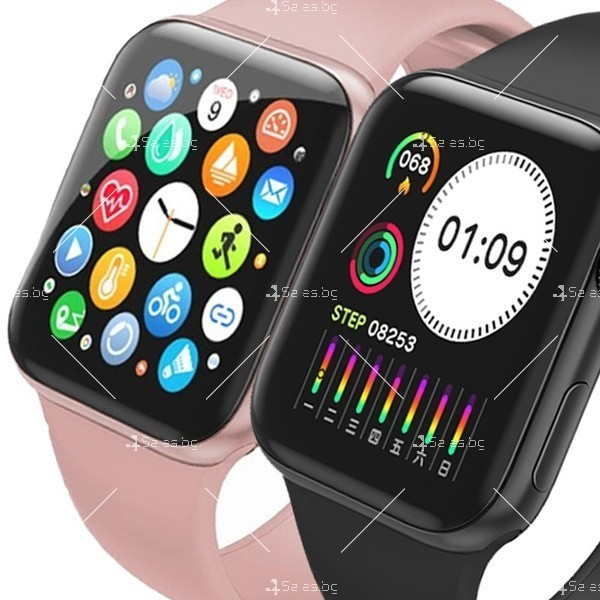 Смарт часовник W98 с HD touch screen и измерване на температурата SMW54 11