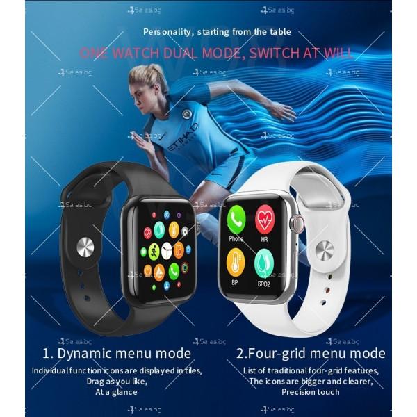 Смарт часовник W98 с HD touch screen и измерване на температурата SMW54 12