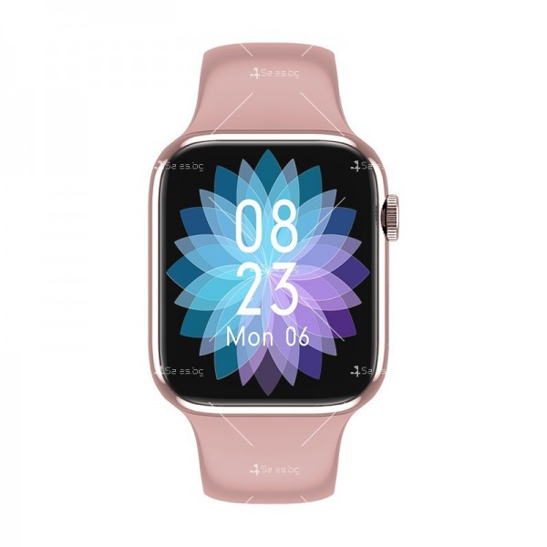 Смарт часовник W98 с HD touch screen и измерване на температурата SMW54 14