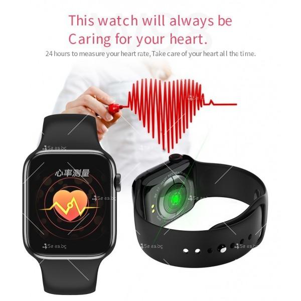 Смарт часовник W98 с HD touch screen и измерване на температурата SMW54 15