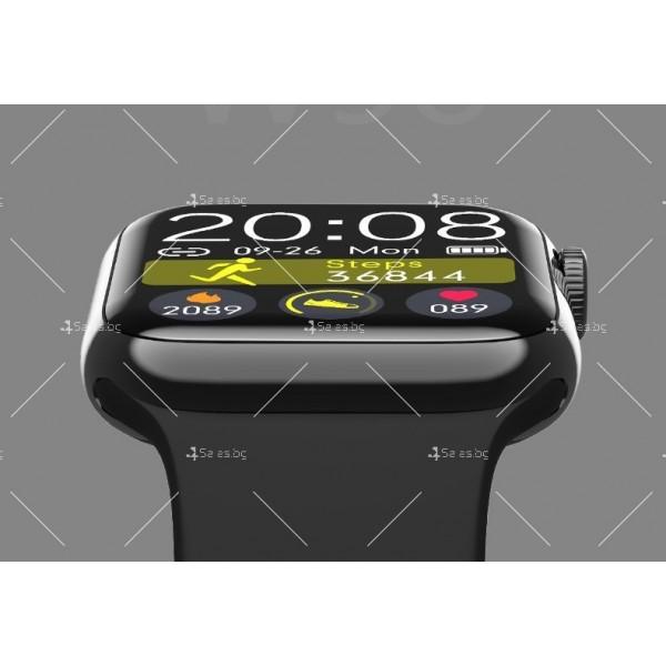 Смарт часовник W98 с HD touch screen и измерване на температурата SMW54 16