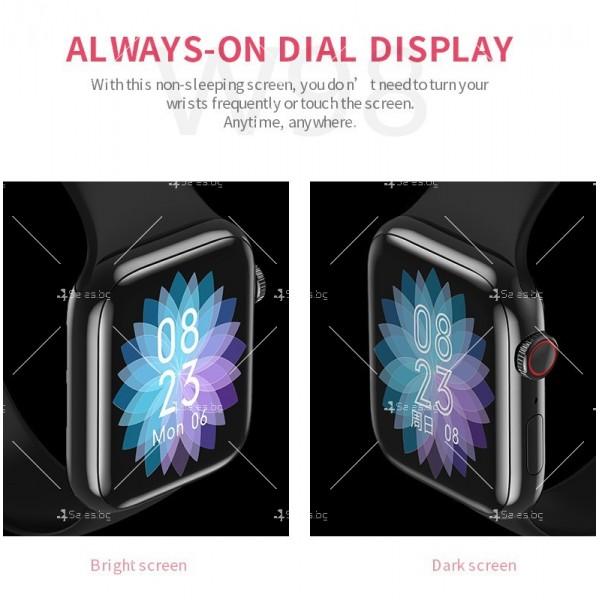 Смарт часовник W98 с HD touch screen и измерване на температурата SMW54 19