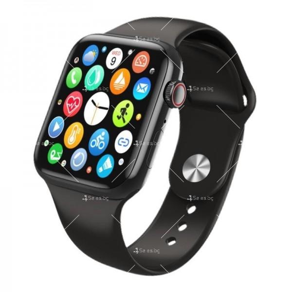 Смарт часовник W98 с HD touch screen и измерване на температурата SMW54 3