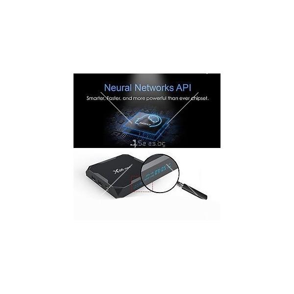 Смарт TV бокс X96QMax+(4+32G) Android 9.0 Amlogic S905X3 X96Max 1