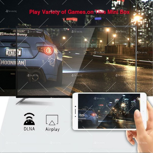 Смарт TV бокс TVBOX H96 MAX, RK3318, Android 10.0, 4K, Wi-Fi 1