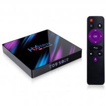 Смарт TV бокс TVBOX H96 MAX, RK3318, Android 10.0, 4K, Wi-Fi