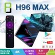 Смарт TV бокс TVBOX H96 MAX, RK3318, Android 10.0, 4K, Wi-Fi 6