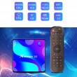 Смарт TV бокс X88 pro10 Android 10.0, четири-ядрен HD плейър, HDMI, Wi-Fi, WLan 4