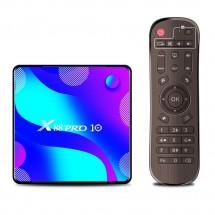 Смарт TV бокс X88 pro10 Android 10.0, четири-ядрен HD плейър, HDMI, Wi-Fi, WLan