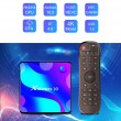 Смарт TV бокс X88 pro10 Android 10.0, четири-ядрен HD плейър, HDMI, Wi-Fi, WLan 7