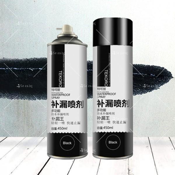 Водоустойчив спрей с отблъскващо водата полиуретаново покритие TV597 7