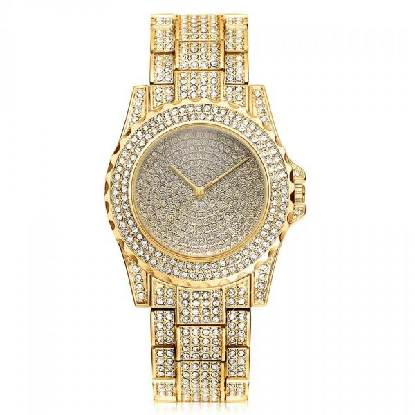 Луксозен кварцов дамски часовник – лукс от злато или сребро W WATCH7