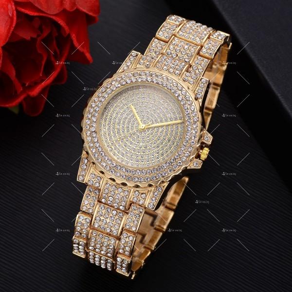 Луксозен кварцов дамски часовник – лукс от злато или сребро W WATCH7 4