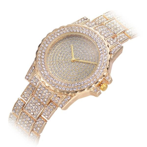 Луксозен кварцов дамски часовник – лукс от злато или сребро W WATCH7 5
