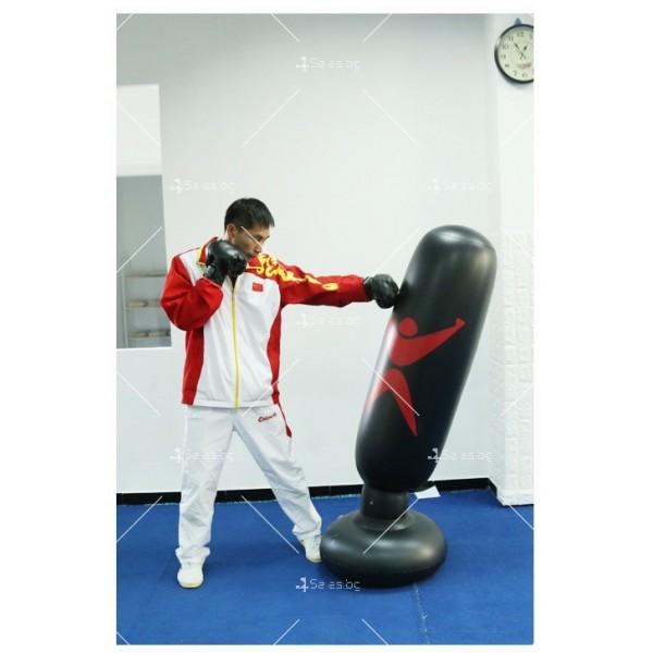 PVC Надуваема боксова круша 160 см, за деца и възрастни, с подсилена основа TV663 9