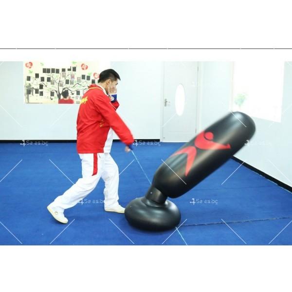 PVC Надуваема боксова круша 160 см, за деца и възрастни, с подсилена основа TV663 10