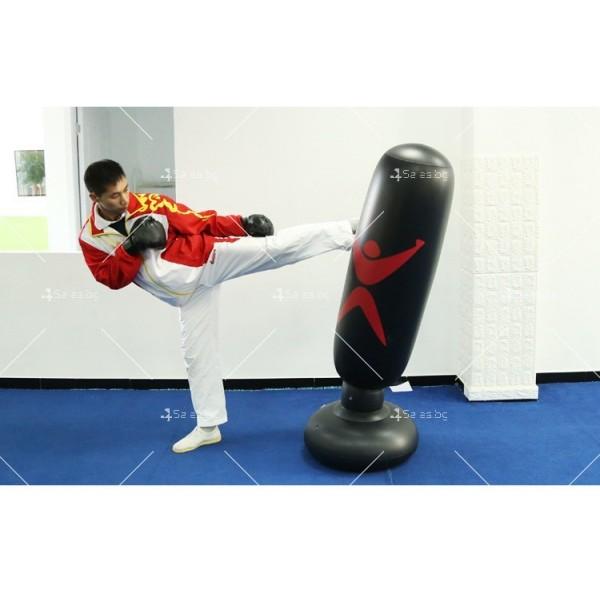 PVC Надуваема боксова круша 160 см, за деца и възрастни, с подсилена основа TV663 11