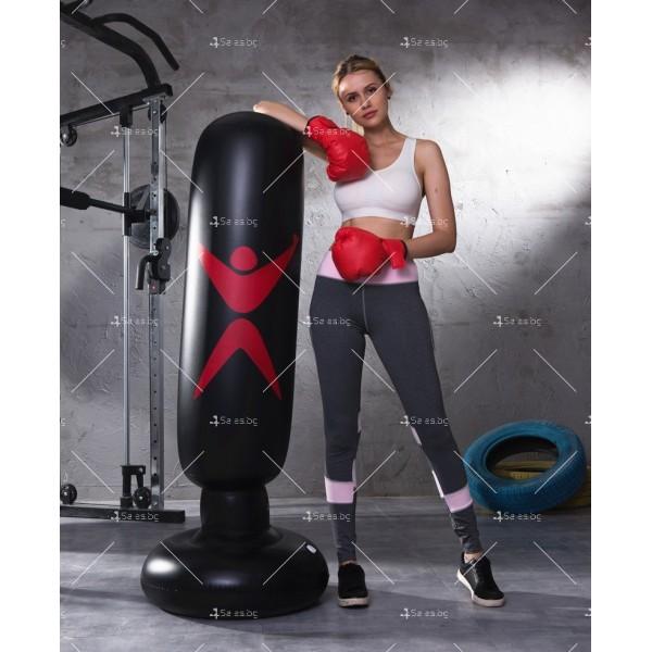 PVC Надуваема боксова круша 160 см, за деца и възрастни, с подсилена основа TV663 13