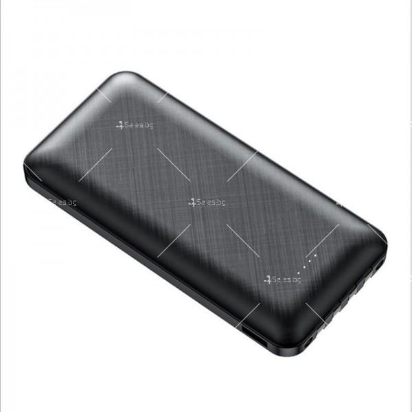 Мултифункционална външна батерия 4-в-1 за Apple, Android, Type-C, 20000 mA TV660 3