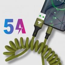 USB Кабел за бързо зареждане Techfuerza SC007 и пренос на данни CA22