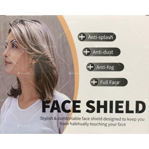 Предпазен шлем за лице BLOCC за защита при работа Blocc Face Shield 6