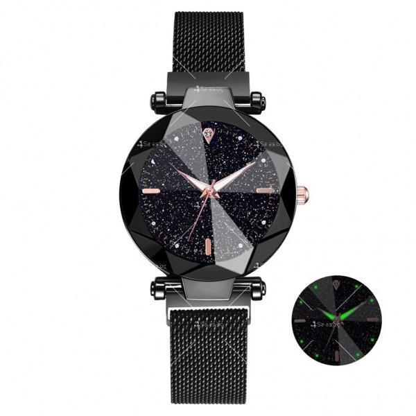 """Луксозен дамски часовник """"звездно небе"""" тип гривна W WATCH8 7"""
