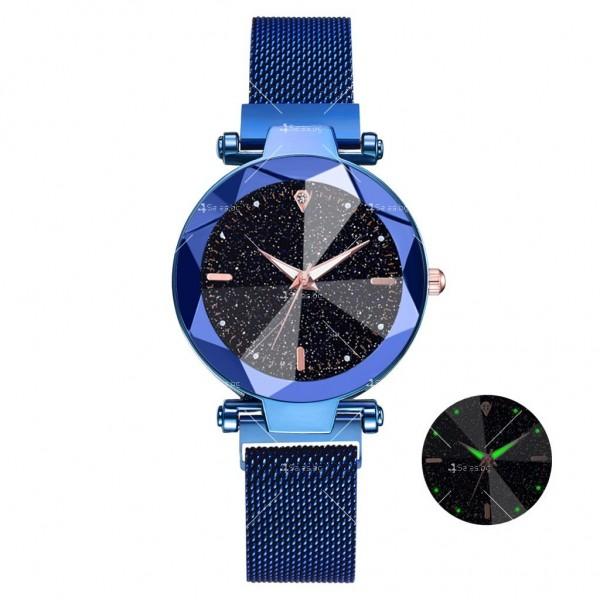 """Луксозен дамски часовник """"звездно небе"""" тип гривна W WATCH8 10"""