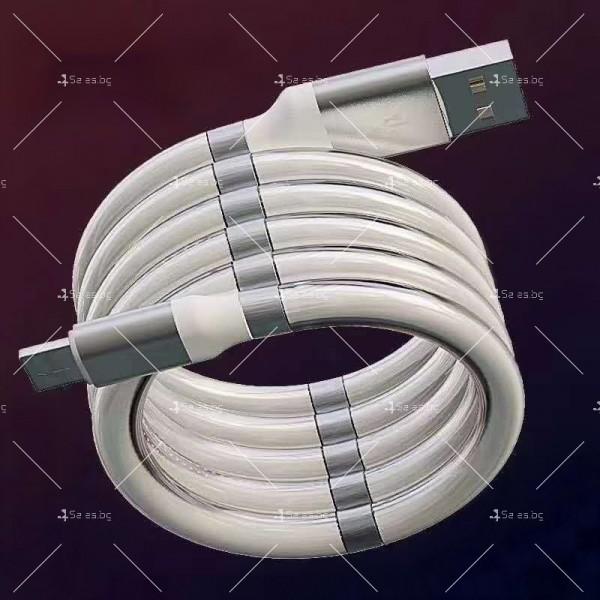 Кабел за обмен на данни с феромагнити Apple10, Тype-c, LeTv 10 – 1м - CA19