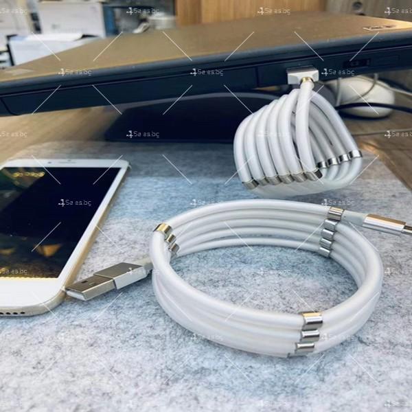 Кабел за обмен на данни с феромагнити Apple10, Тype-c, LeTv 10 – 1м - CA19 3