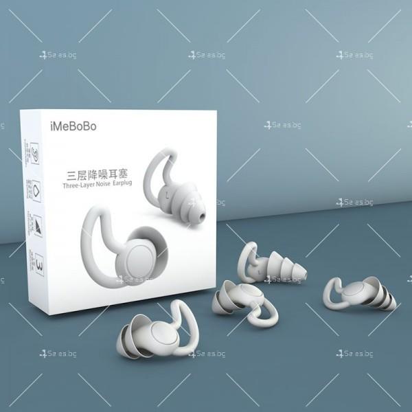 Анти шум тапи за уши със звукова изолация 40 децибела подходящи за спане TV650 3