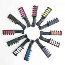 Мини еднократен гребен за боядисване на кичури в различни цветове HZS220