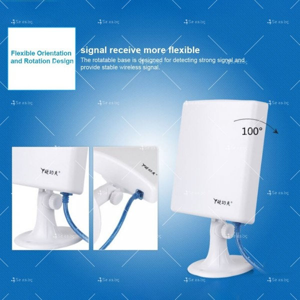 Tuoshi N910 безжичен WiFi адаптер с вградена антена и рутер в комплекта WF-N910 3