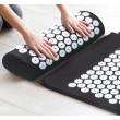 Йога мат с възглавничка с вградени шипове за акупунктурен масаж TV678 3