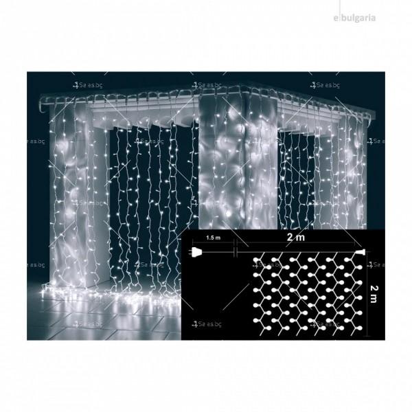 Светеща LED завеса с 400 лампички SD13 1